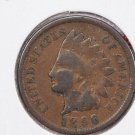 1896 1C Indian Head Cents. Good Circulated Coin. Store Summer Sale #2621