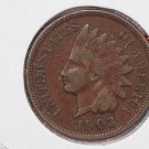 1903 1C Indiain Head Cents. Choice Very Good Circulated Coin. Super Sale #2651