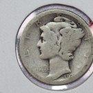 1926-D 10C Mercury Silver Dime. Good Circulated Coin. SALE #2733