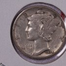 1934-D 10C Mercury Silver Dime. Good Circulated Coin. STORE#2765
