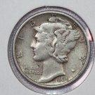 1936 10C Mercury Silver Dime. Good Circulated Coin. Store #2773