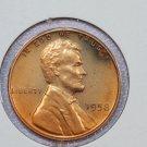 1958 1C Lincoln Memorial Penny. Brilliant PROOF, UN-Circulated Coin.
