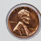 1962 1C Lincoln Memorial Penny. Brilliant Proof, UN-Circulated Coin.