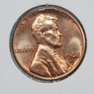 1968-S 1C Lincoln Memorial Penny. Brilliant UN-Circulated Coin. Circulated strike.