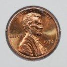1974 1C Lincoln Memorial Penny. Brilliant UN-Circulated Coin. SALE# 3451