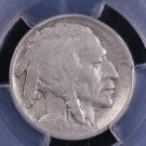 1913-S 5C Buffalo Nickel.  Type-2.  Harder Date.  Problem Free Coin. PCGS F-15.