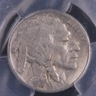 1921-S Buffalo Nickel.  Problem Free. Lower, Affordable Grade.  PCGS  VG-10.