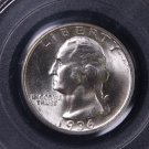1936-S 25C Washington Silver Quarter.  Choice Top Grade. PCGS MS-65.  Lower Minted Coin.