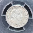 1910-D Barber Dime.  Nice Problem Free Certified PCGS. XF 45.  Nice Deal.