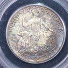1936-D San Diego, Silver Commemorative Half Dollar.  Older Green PCGS Holder.  MS 65.