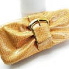 Fabulous Maize Clutch w/Buckle