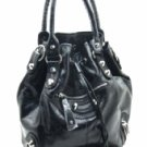Fabulous Tall Black Satchel