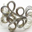 Fabulous Silver Swirly Bracelet