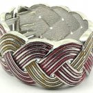 Fabulous Red and Yellow Swirl Cuff