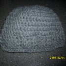 Grey patterned beanie