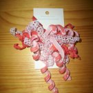 Coral and Pink korker bow