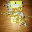 Citrus colored korker bow