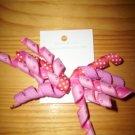 Mini pink korker bow