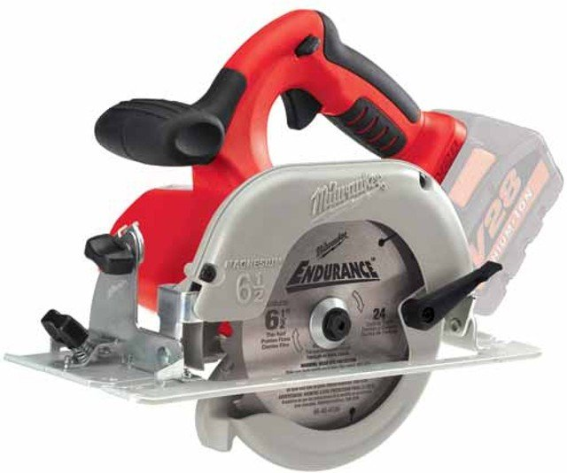 MILWAUKEE TOOLS V28 CORDLESS CIRCULAR SAW 0730-20 28V