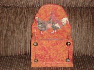 Rooster Kitchen Utensil Holder (Small)