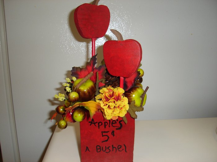 Apple Floral Arrangement