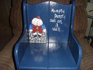 Humpty Dumpty chair