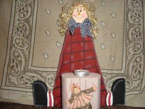 Sally Mae Candle Girl
