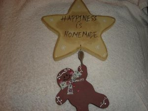 Reach For The Stars Gingerbread Man