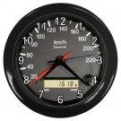 RACE CAR ODOMETER Print Wall Clock, Home Decor Gift Time 18914242