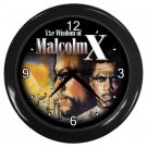 MALCOLM X Print Wall Clock, Home Decor, Office Gift Time 18964372
