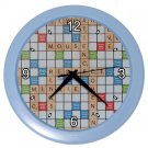 SCRABBLE GAMEBOARD Print Wall Clock, Home Decor, Office Gift Time 19037994