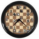 CHESS GAMEBOARD Print Wall Clock, Home Decor, Office Gift Time 19037997