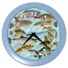 GAME FISH Wall Clock, Home Decor, Office Gift Time 20505179