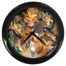 SCARY DRAGON FANTASY Wall Clock, Home Decor, Office Gift Time 20566326