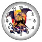 FANTASY DRAGON Wall Clock, Home Decor, Office Gift Time 20566393
