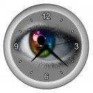 RAINBOW EYE ART Wall Clock, Home Decor, Business, Office, Gift Time 20572646
