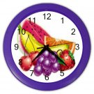 MIXED FRUITS Kitchen Wall Clock, Home Decor, Business, Office, Gift Time 20574238