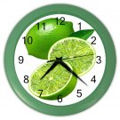 LIMES FRUIT Kitchen Wall Clock, Home Decor, Business, Office, Gift Time 20574243