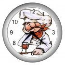 CARTOON CHEF Kitchen Wall Clock, Home Decor, Business, Office, Gift Time 20574553