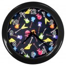 Electric Guitar Design Wall Clock Home Decor Office Gift Time 14172947