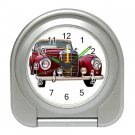 Mercedes Silver Compact Travel Alarm Clock 15725252