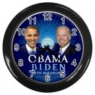 Obama Biden Presidential Inauguration Black Wall Clock Home Decor Office Gift Time 17654793
