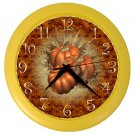 AUTUMN FALL PUMPKIN Print Wall Clock, Home Decor, Office Gift Time 22646497