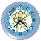 MONKEY Design Wall Clock, Home Decor, Baby Nursery, Office Gift Time 22646505