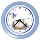 HUMMINGBIRD GARDEN Design Wall Clock, Home Decor, Office Gift Time 22646509