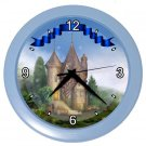 CASTLE PRINCESS Design Wall Clock, Home Decor, Office Gift Time 22646544
