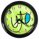 CUTE Girl's Black Plastic Frame Wall Clock Home Decor Office Gift Time 26618969