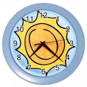 SUNSHINE Design Wall Clock Home Decor Office Gift Time 26619183
