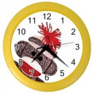 SOCK MONKEY Wall Clock, Home Decor Gift Time 25916346