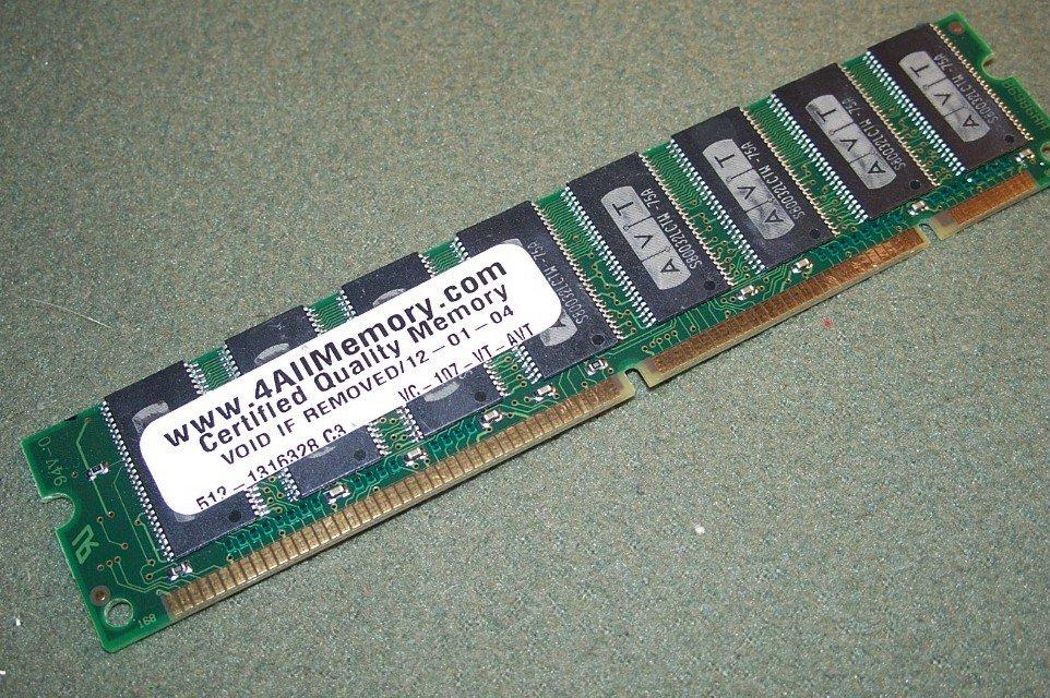 AVT 512MB PC133 CL3 MEMORY MODULE STICK